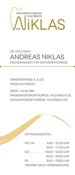 Dr Andreas Niklas Kieferorthopädie Kulmbach
